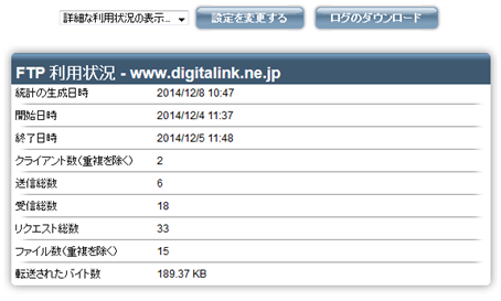 05_ftp statistics